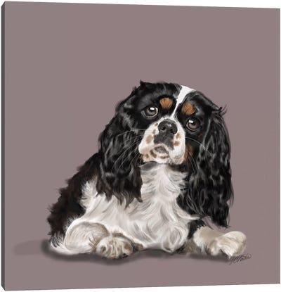 King Charles Big Eyes Canvas Art Print