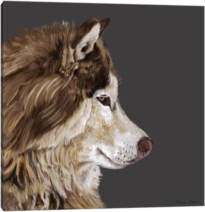 Alaskan Malamute Canvas Art Print