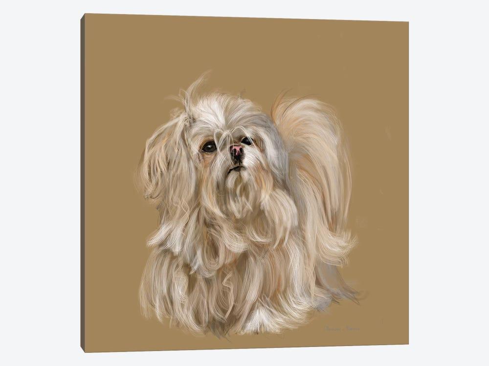 Mika by Vicki Newton 1-piece Canvas Art Print