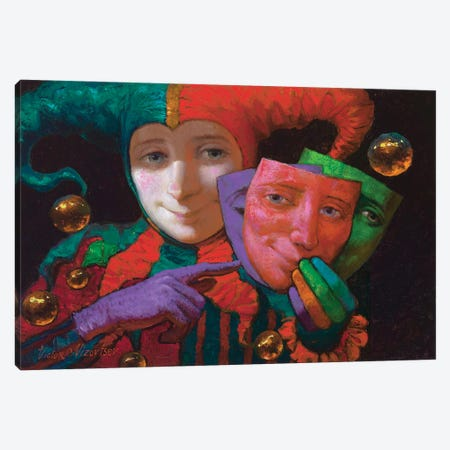 Carnaval Canvas Print #VNZ10} by Victor Nizovtsev Art Print