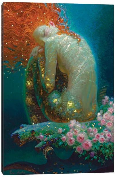 Emerald Dreams Canvas Art Print