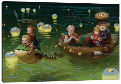 Family Time Canvas Art Print