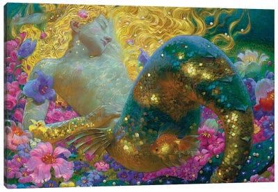 Golden Dreams Canvas Art Print