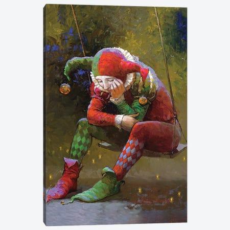 Harliquin Reflections Canvas Print #VNZ29} by Victor Nizovtsev Canvas Artwork