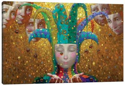 Rain Of Gold Canvas Art Print