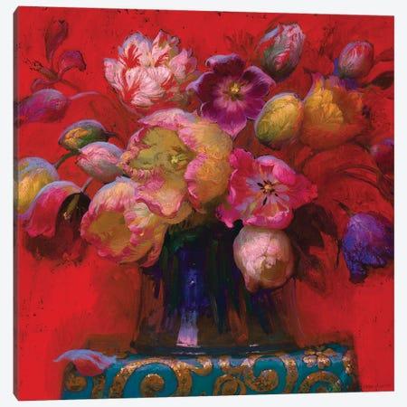 Red Stll Life Canvas Print #VNZ49} by Victor Nizovtsev Canvas Art