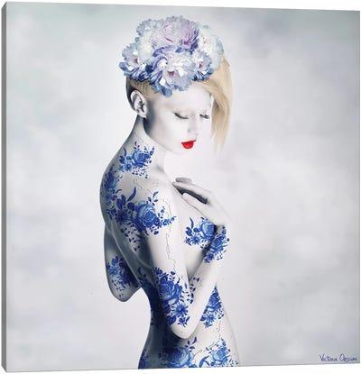 Porcelain Canvas Art Print
