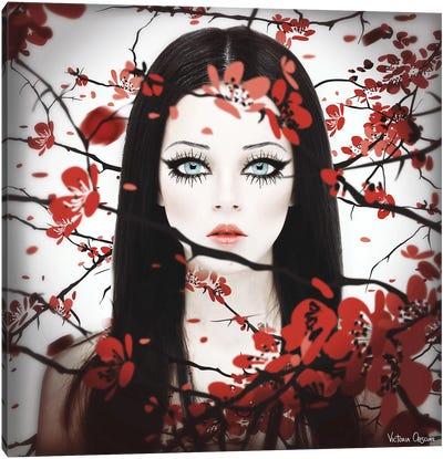 Sakura Canvas Art Print