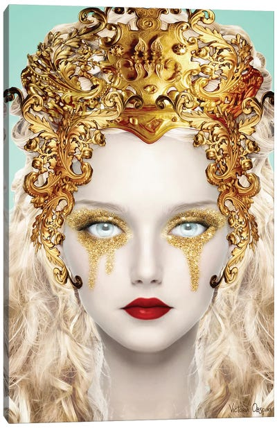 All That Glitters Canvas Art Print