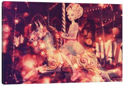 Carousel Canvas Art Print