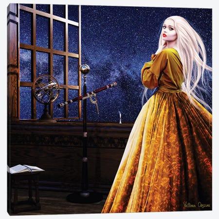 Stargazer Canvas Print #VOB52} by Victoria Obscure Canvas Artwork