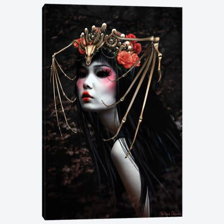 The Hunt Canvas Print #VOB53} by Victoria Obscure Canvas Wall Art