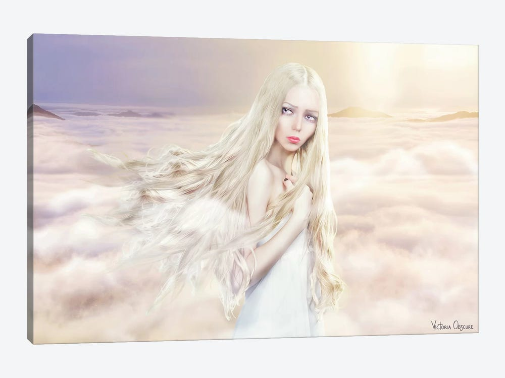 Between The Clouds by Victoria Obscure 1-piece Canvas Art