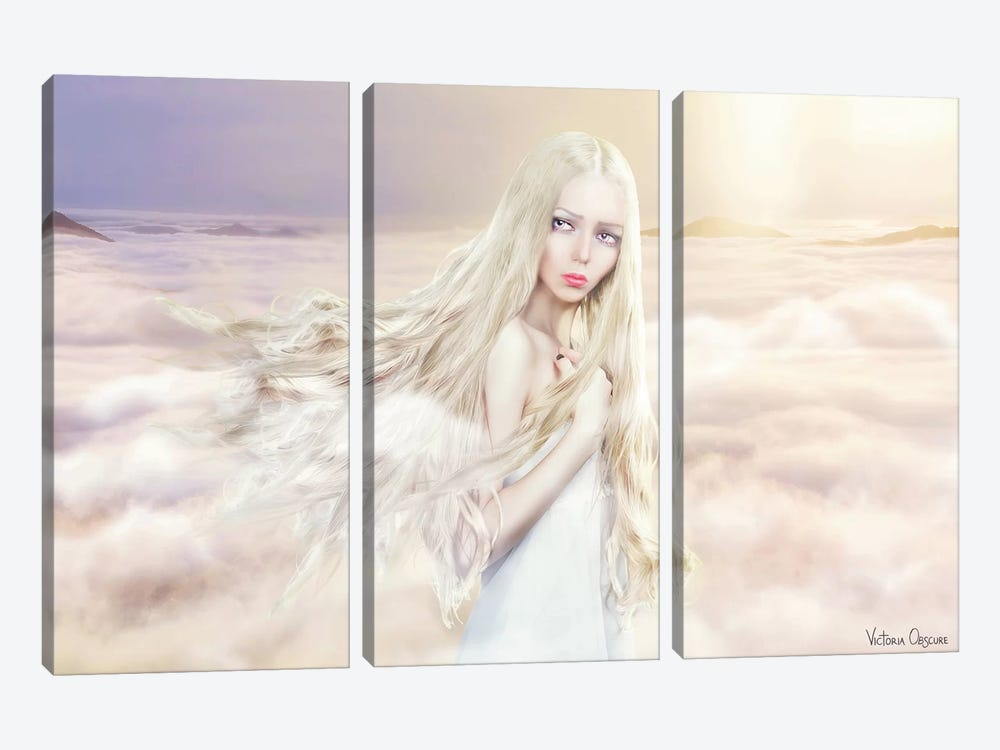 Between The Clouds by Victoria Obscure 3-piece Canvas Artwork