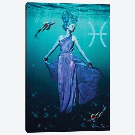 Pisces Canvas Print #VOB80} by Victoria Obscure Canvas Print