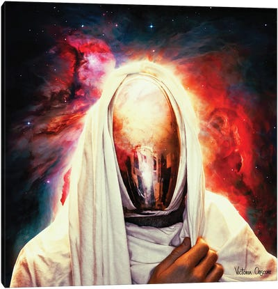 For Who Came From Orion Canvas Art Print