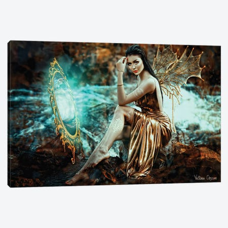 Fey Canvas Print #VOB95} by Victoria Obscure Art Print