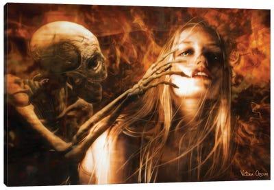 Inferno Canvas Art Print