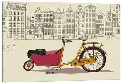 Amsterdam - Bicycle Canvas Art Print