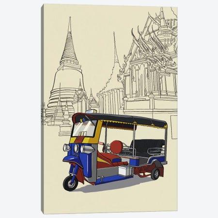 Bankok - Tuk tuk Canvas Print #VOW2} by 5by5collective Canvas Art Print