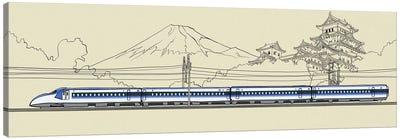 Japan - Bullet train Canvas Art Print