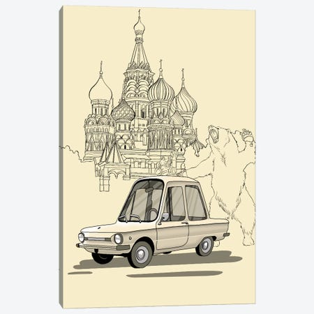 Russia - Zaporozec Canvas Print #VOW9} by 5by5collective Art Print