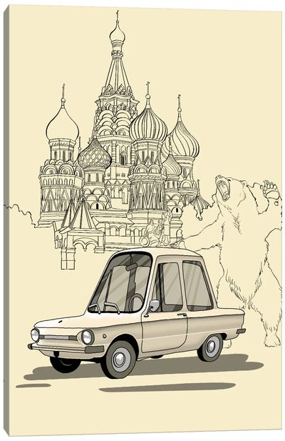 Russia - Zaporozec Canvas Art Print