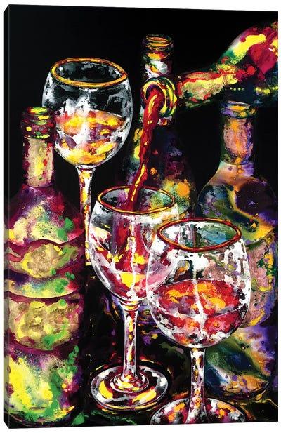 Goood Libations Canvas Art Print
