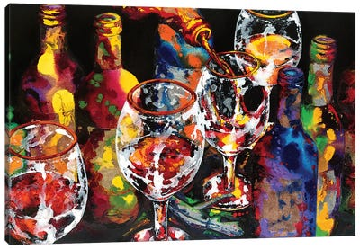 Miracle In A Glass Canvas Art Print