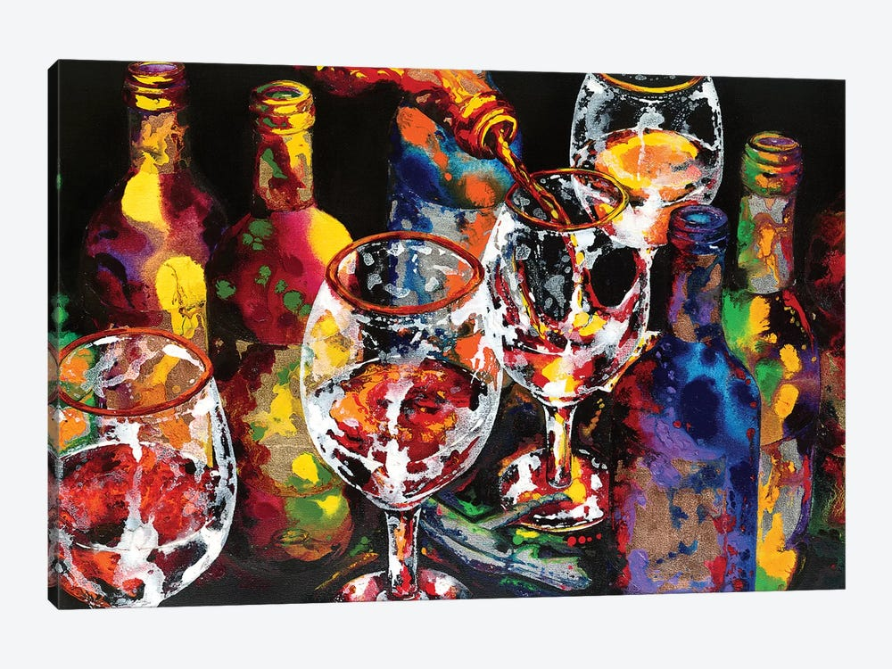 Miracle In A Glass by Vaso Peritos 1-piece Art Print