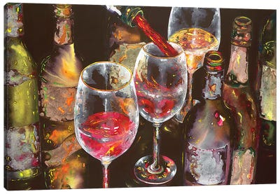 A Taste Of Napa Canvas Art Print