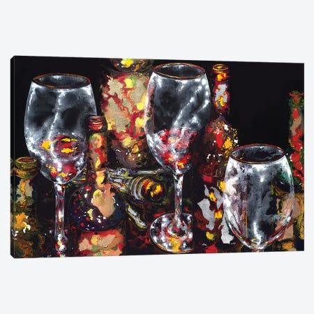 Sterling Silver Anniversary Canvas Print #VPE36} by Vaso Peritos Canvas Art Print
