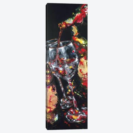 Summer's Tasting Canvas Print #VPE38} by Vaso Peritos Canvas Art
