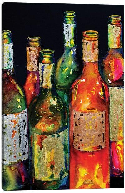 Uncorked Canvas Art Print