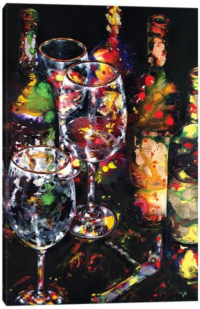 Vino Belissimo Canvas Art Print