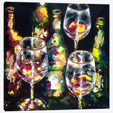 Be My Guest Canvas Print #VPE4} by Vaso Peritos Canvas Artwork