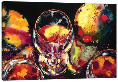 Bold Aromas Canvas Art Print