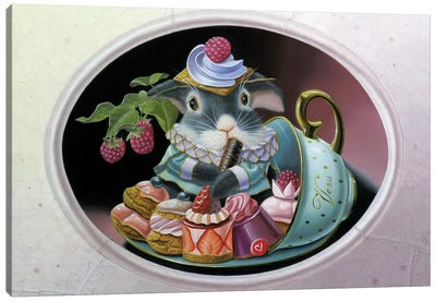 Cup Of Plenty Canvas Art Print