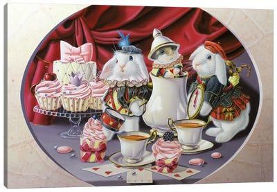 Four Hours In Wonderland Canvas Art Print