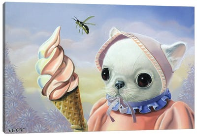 Ice Cream Canvas Art Print