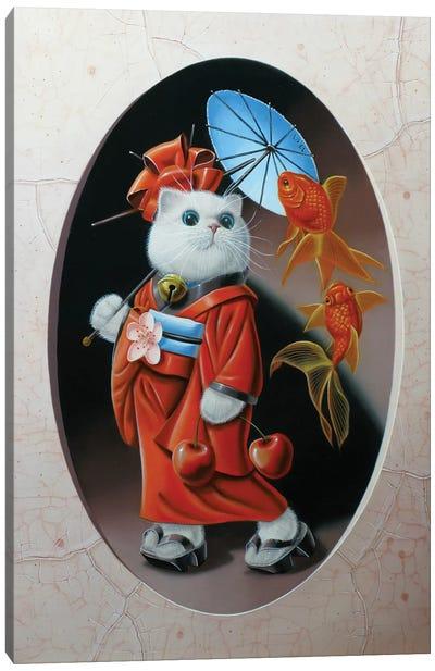 Maneki-Neko N°2 Canvas Art Print