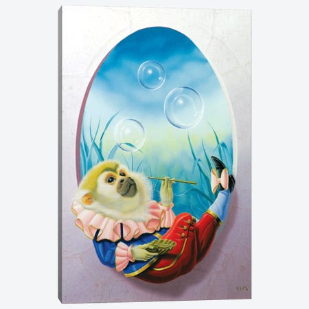 Meditation Canvas Print #VQU27} by Valéry Vecu Quitard Canvas Art Print