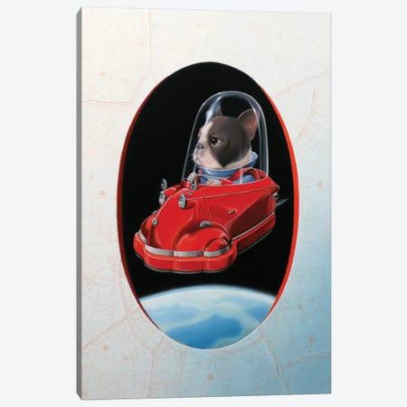 Aéromesserschmitt Canvas Print #VQU2} by Valéry Vecu Quitard Canvas Print