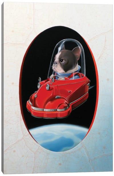 Aéromesserschmitt Canvas Art Print