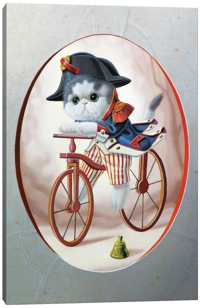 National Guard At Cycle N°2 Canvas Art Print