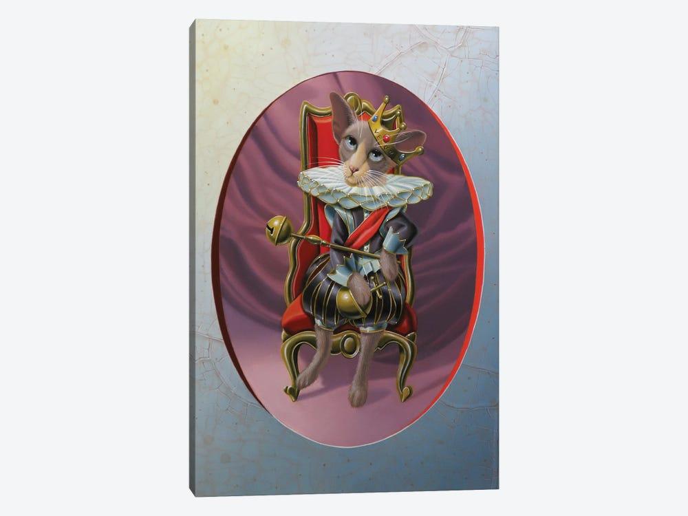 Royal Throne by Valéry Vecu Quitard 1-piece Canvas Art