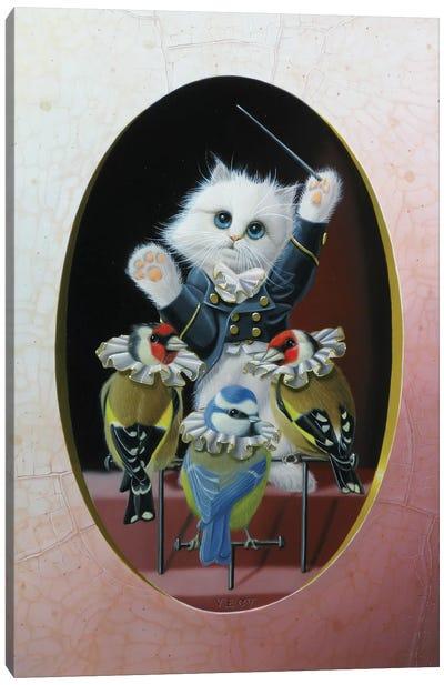 Singing Master Canvas Art Print