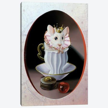 Small Cream Canvas Print #VQU37} by Valéry Vecu Quitard Canvas Wall Art