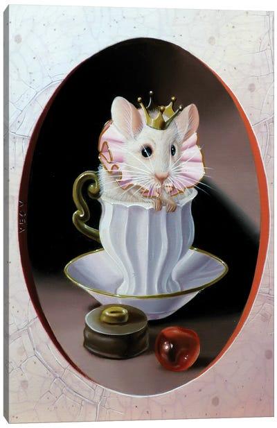 Small Cream Canvas Art Print