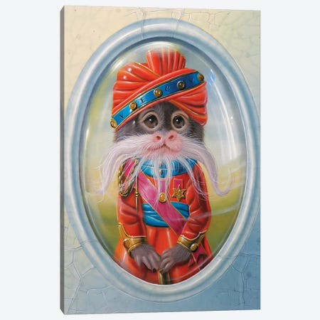 The Maharaja Of Rajasthan Canvas Print #VQU64} by Valéry Vecu Quitard Canvas Print